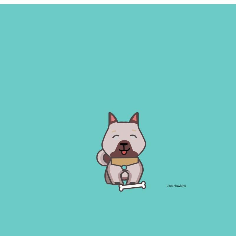 My little cartoon dog - image 1 - student project