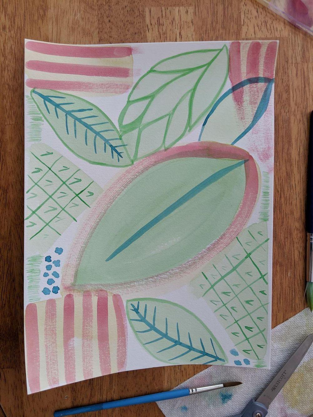 Leaf Meditation - image 1 - student project