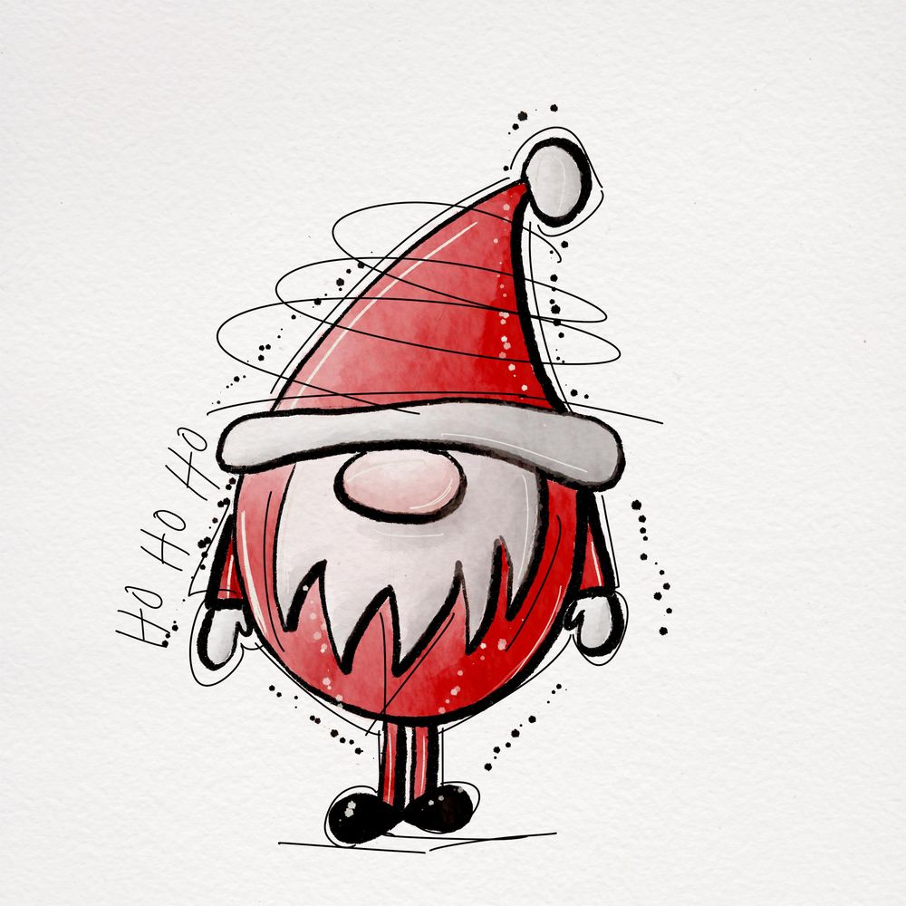 Christmas Doodles - image 1 - student project