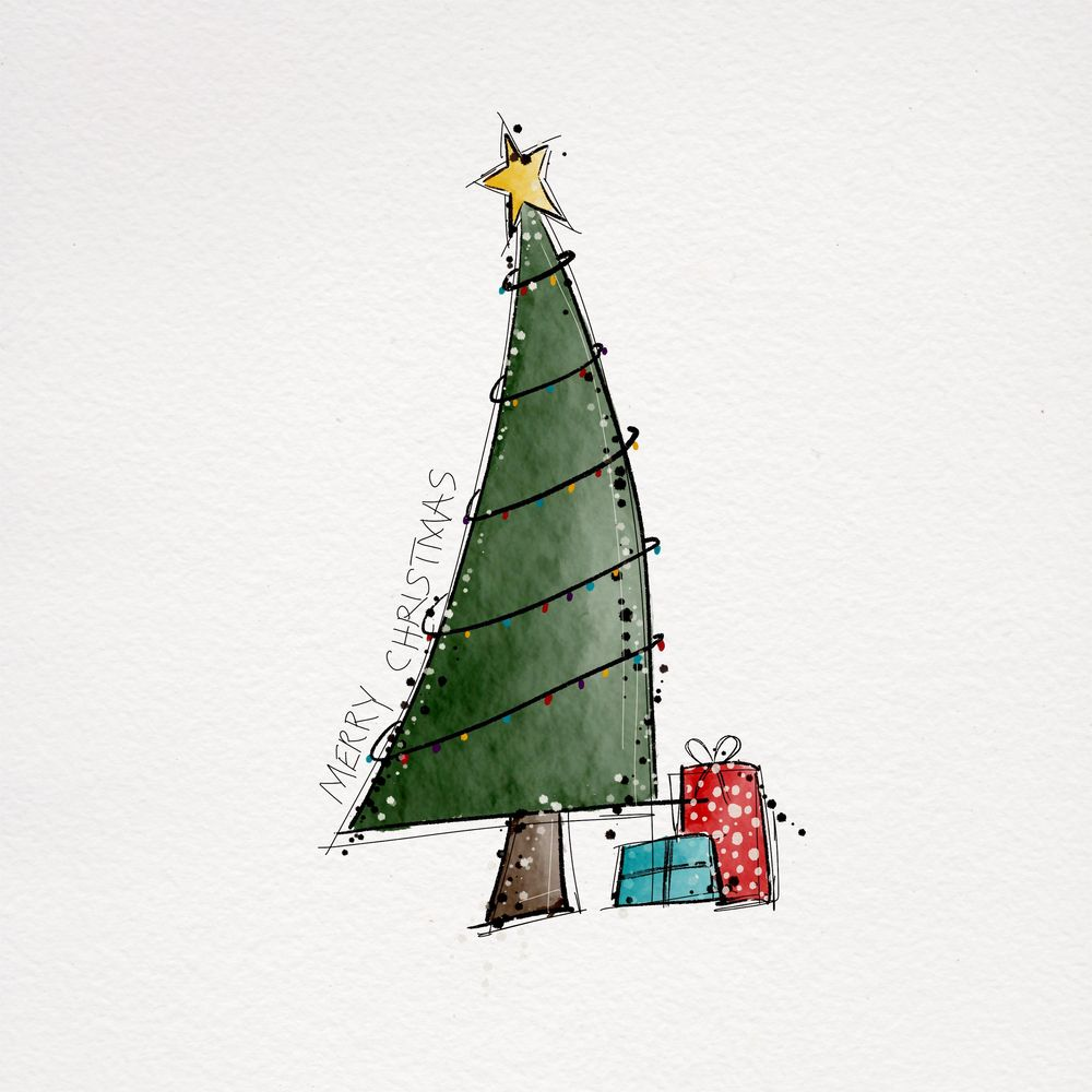 Christmas Doodles - image 2 - student project