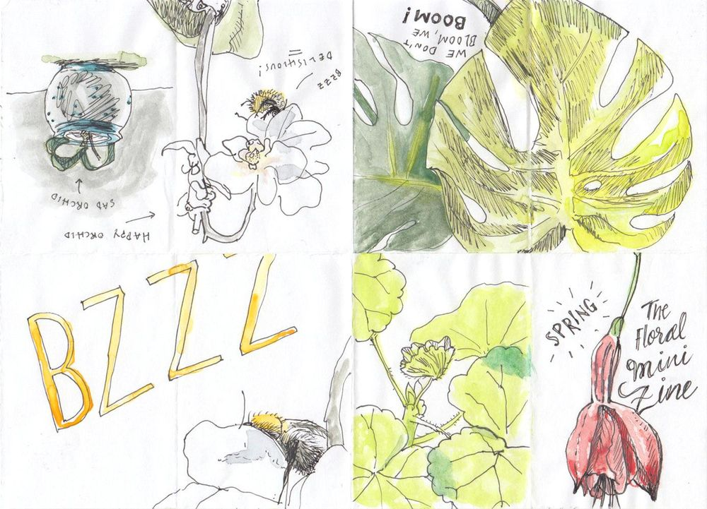 Buzzing and blooming - image 1 - student project