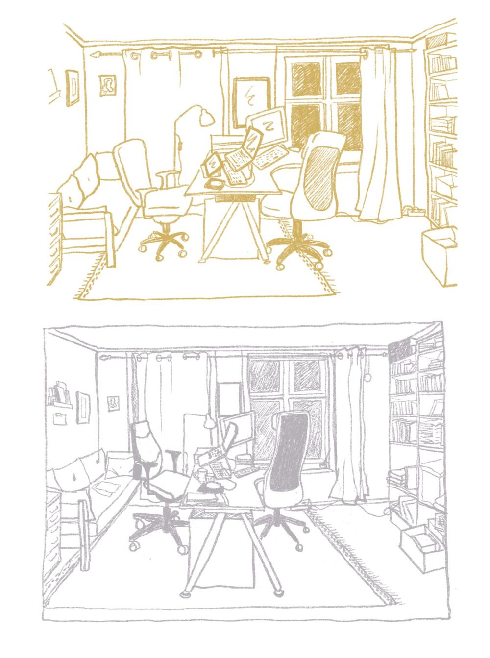 Drawing My Workspace - image 3 - student project