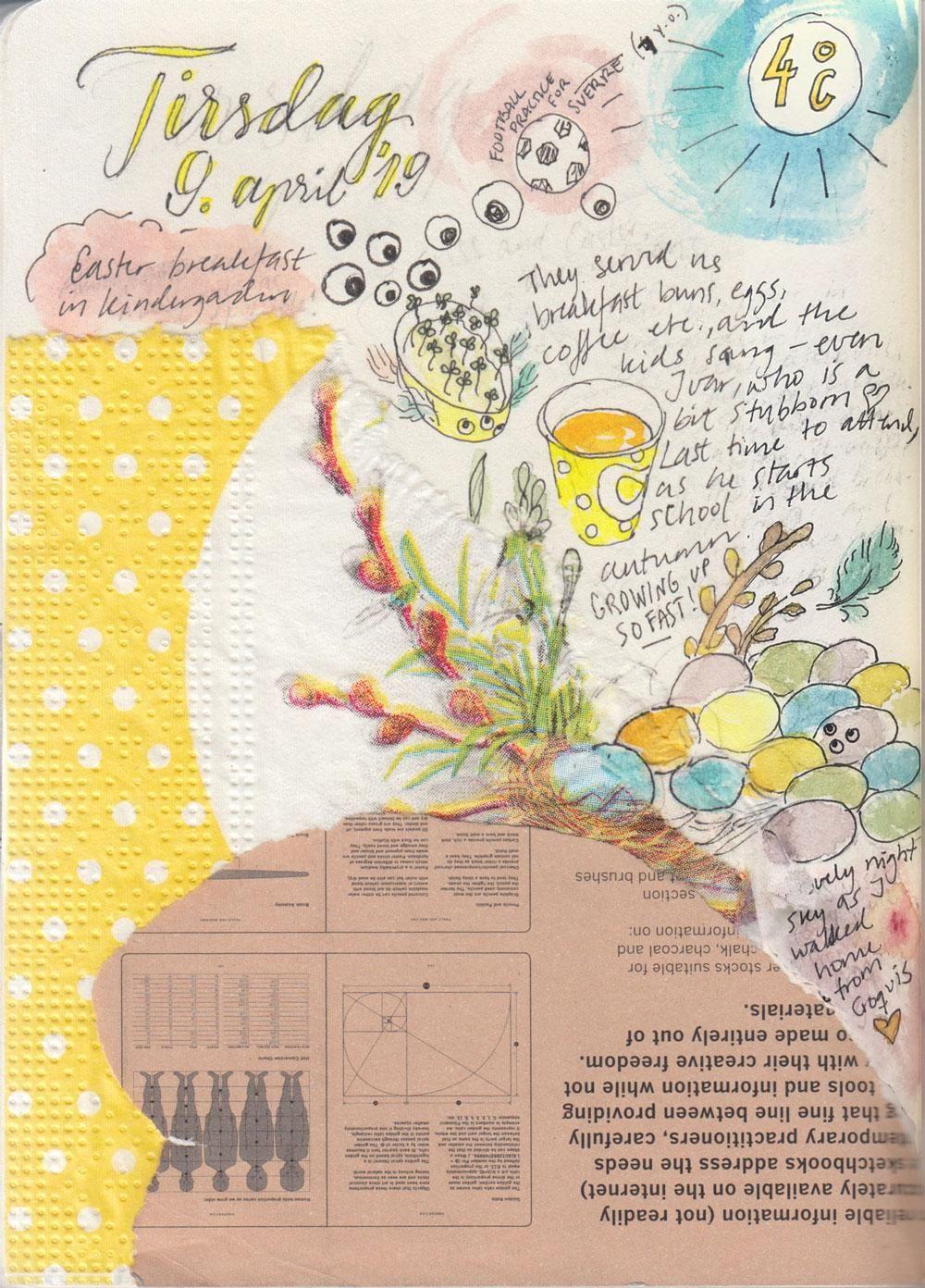 My Sketckbook Journal April 2 2019 - image 3 - student project