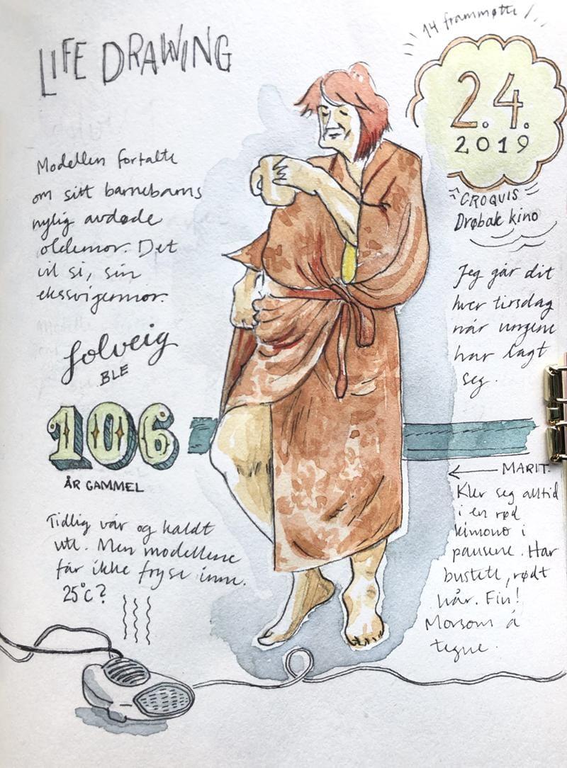 My Sketckbook Journal April 2 2019 - image 1 - student project