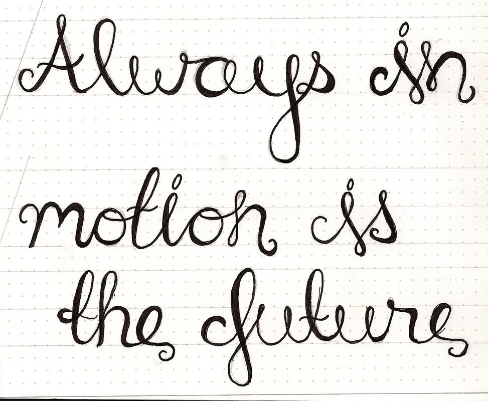 Always in Motion is the Future - image 1 - student project