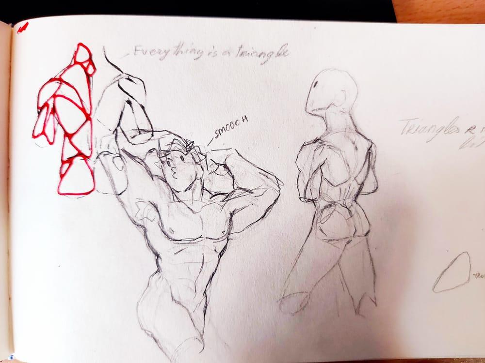 smooch. Torso anatomy practice - image 1 - student project