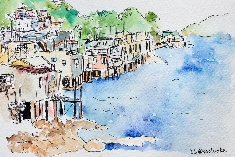 Sam Ka Tsuen - Beautiful place in Hong Kong - image 2 - student project