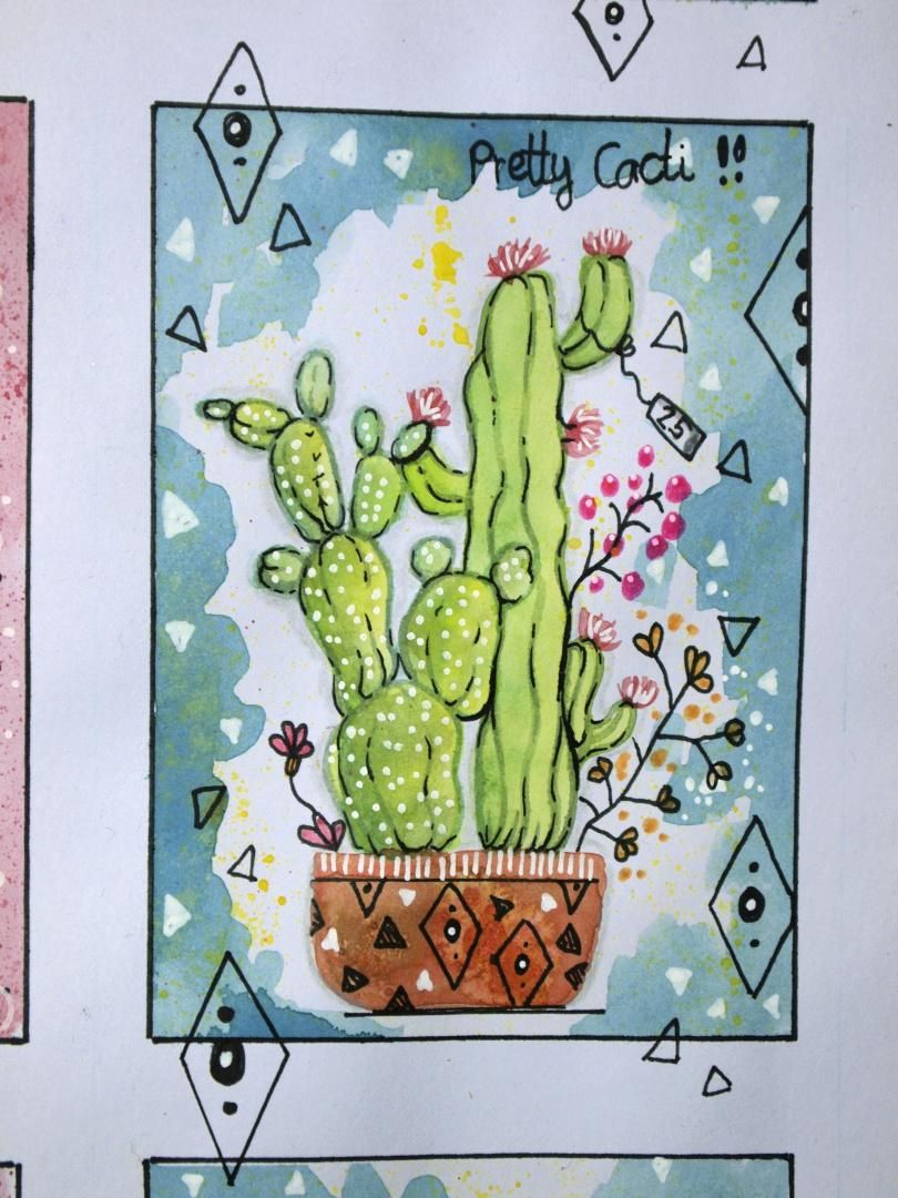 My cacti don't look quite as planned... - image 2 - student project