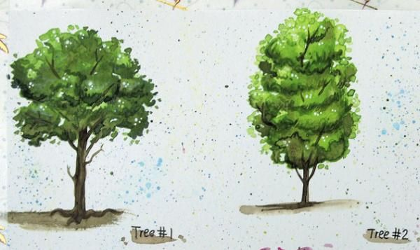 Happy little trees - image 2 - student project