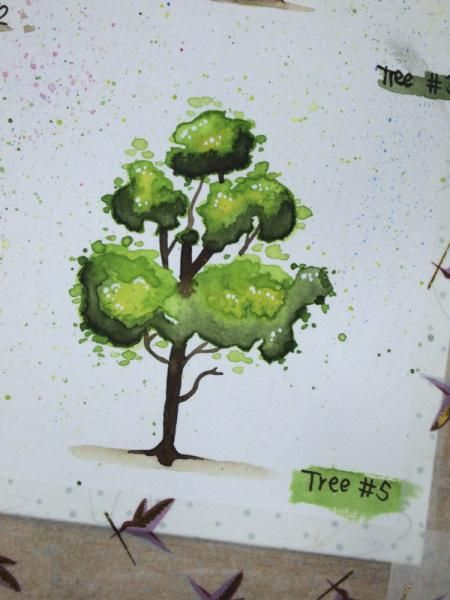 Happy little trees - image 5 - student project