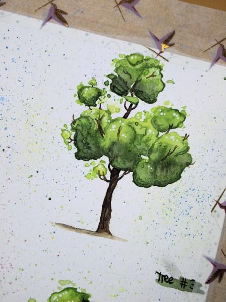 Happy little trees - image 3 - student project