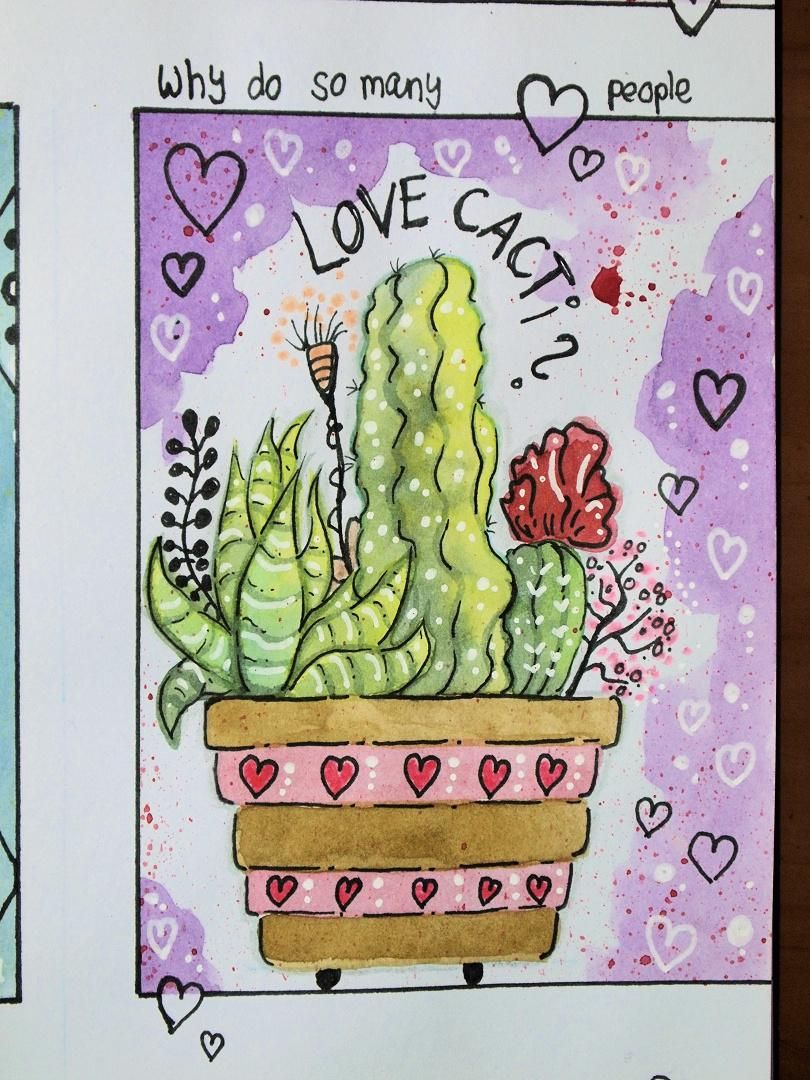 My cacti don't look quite as planned... - image 3 - student project