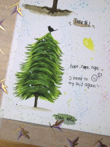 Happy little trees - image 4 - student project