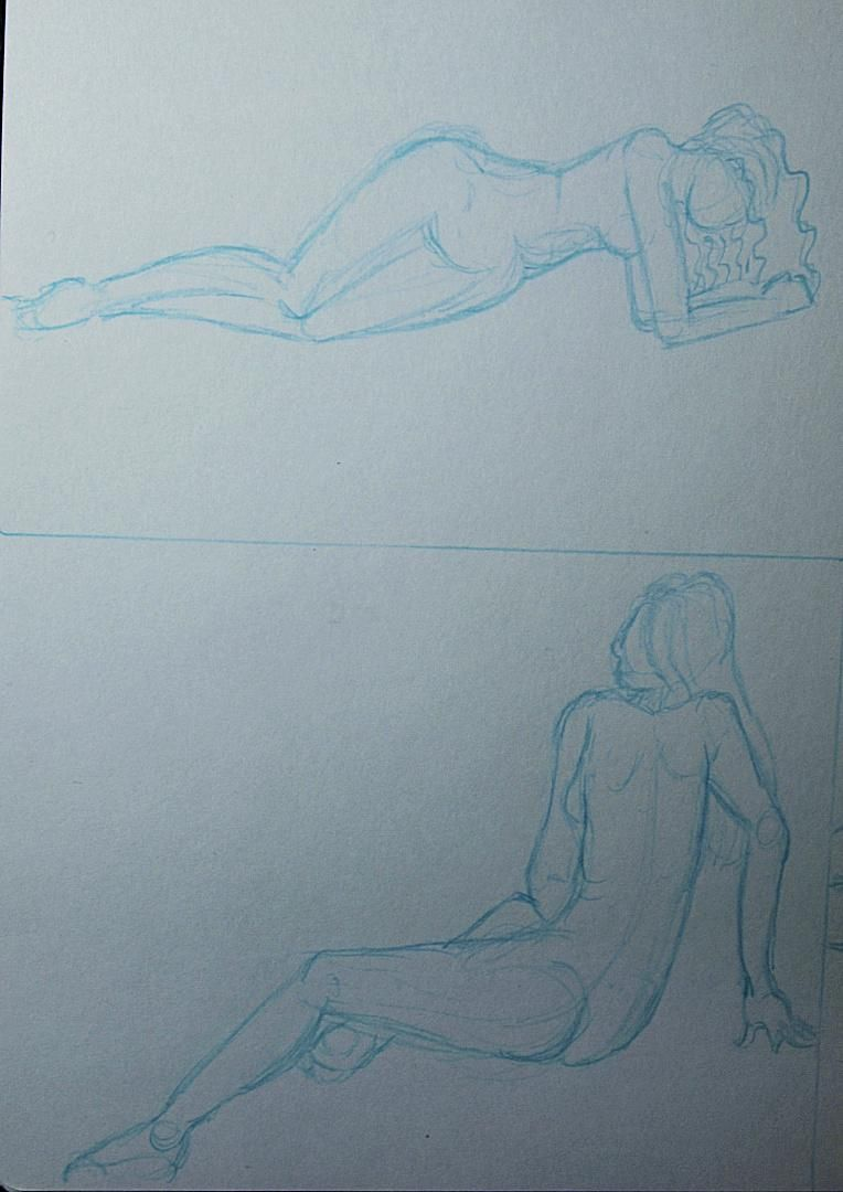 Trying my hand at gesture drawing - image 3 - student project