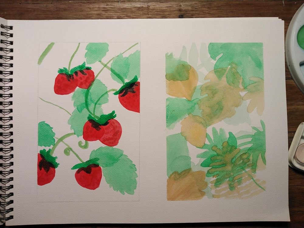 Basic Watercolor Practice - image 2 - student project