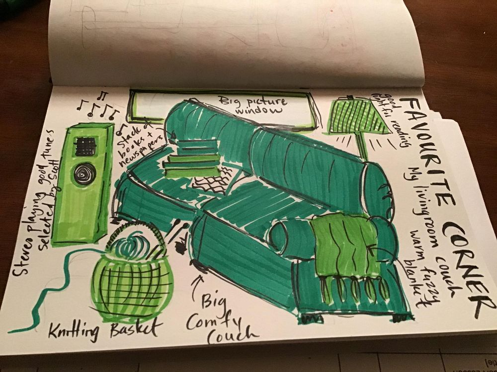 Illustrated Journaling - image 11 - student project