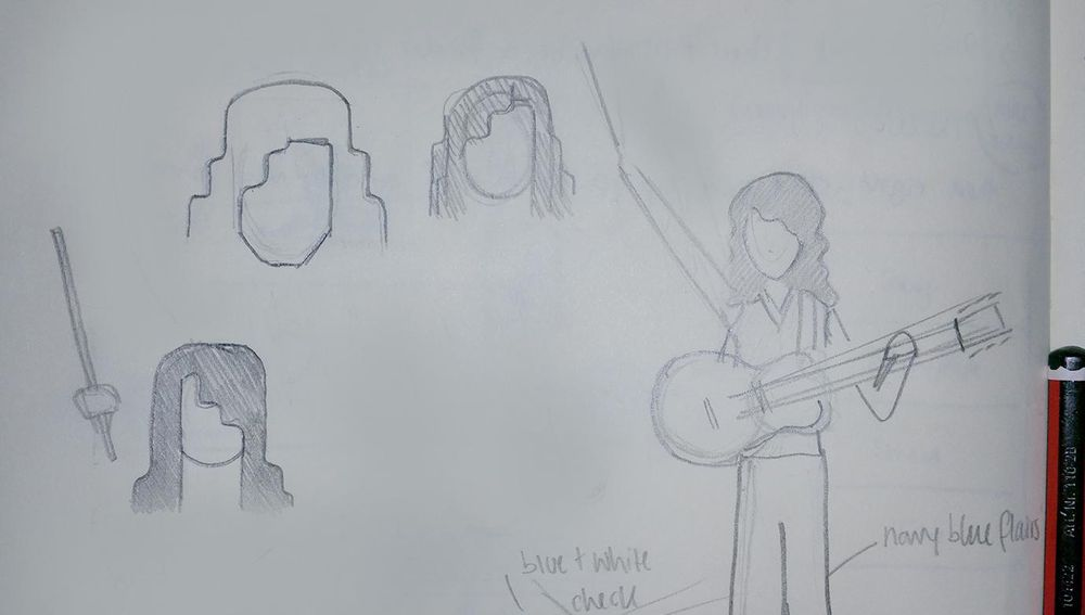 Sir Jimmy of Page - image 2 - student project