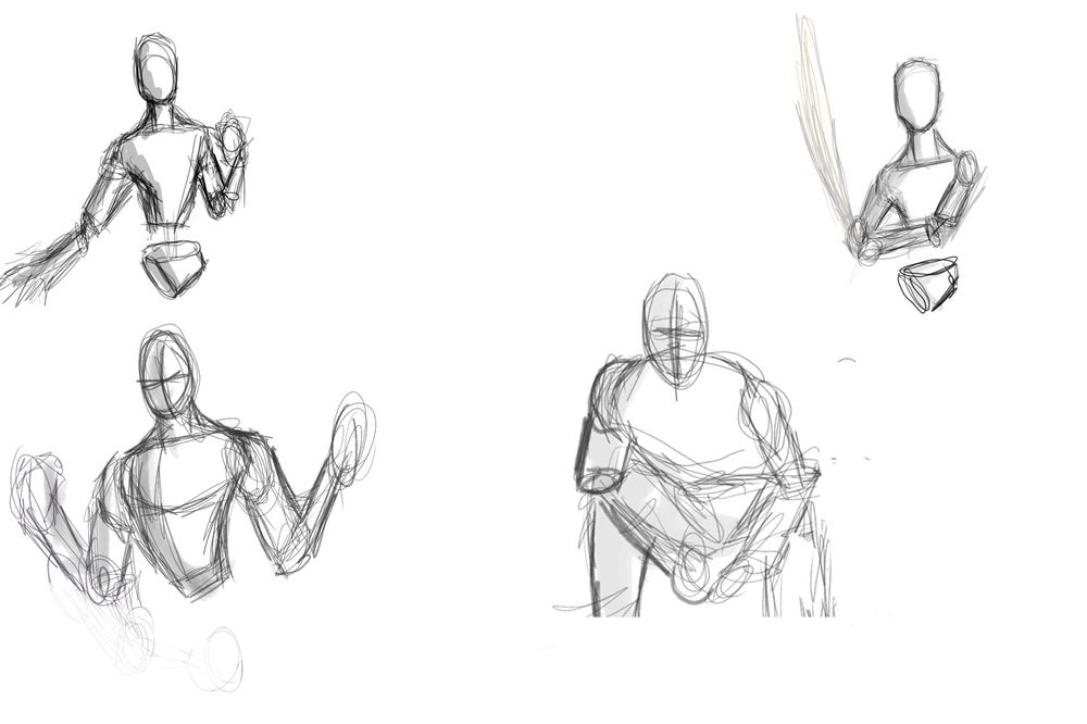 Figure drawing - image 1 - student project
