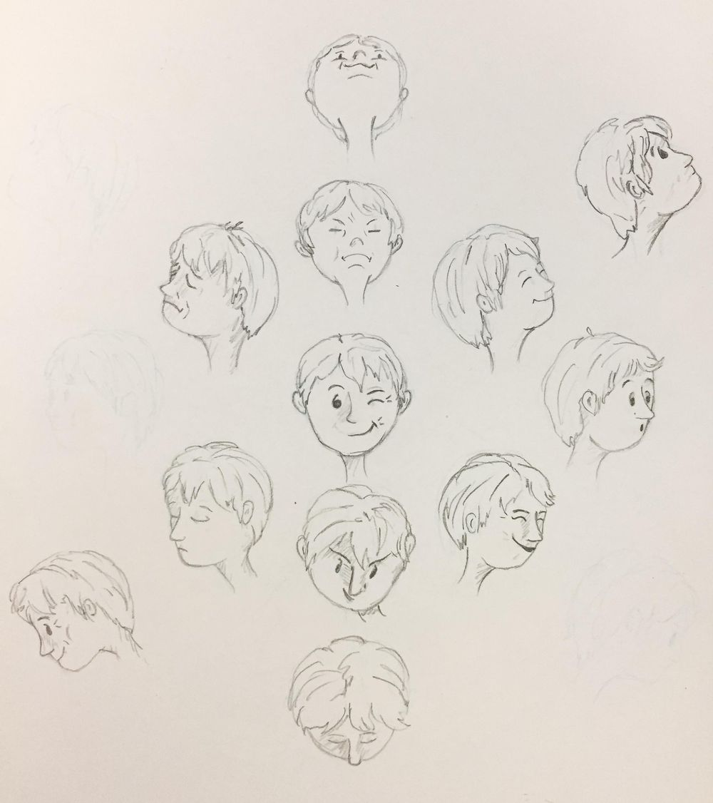 Drawing the Head - Part 3 - image 2 - student project