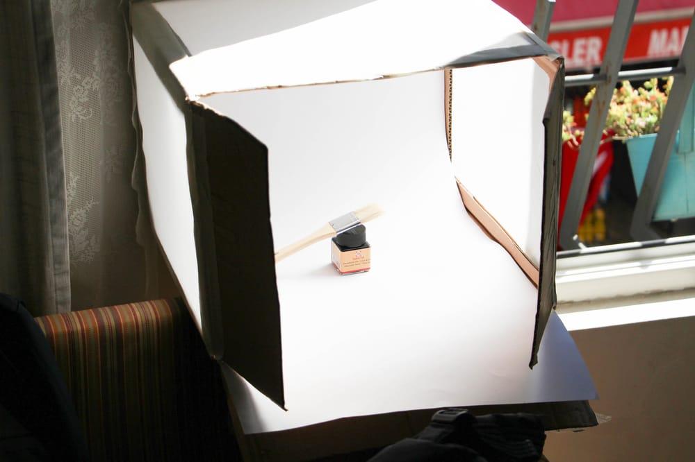 My light box + a sample photo - image 1 - student project