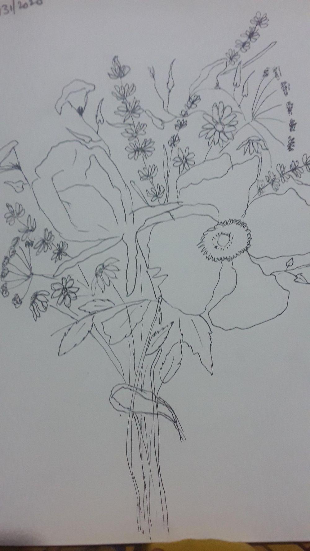 Bouquet of flowers - Lakshmi - image 1 - student project