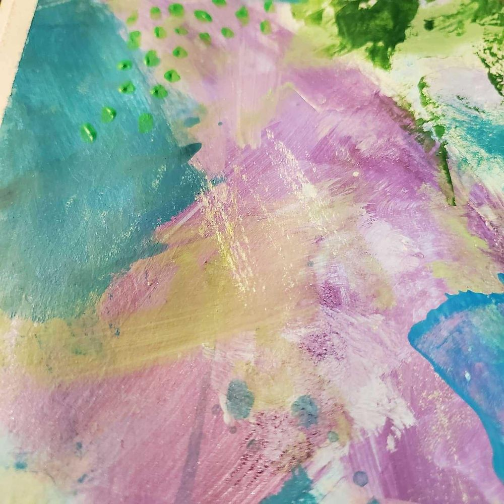 Modern Abstract Expressionism - image 4 - student project