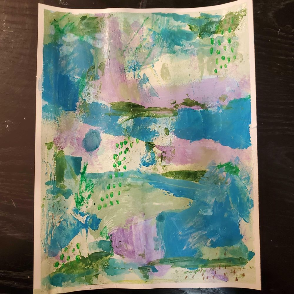 Modern Abstract Expressionism - image 3 - student project