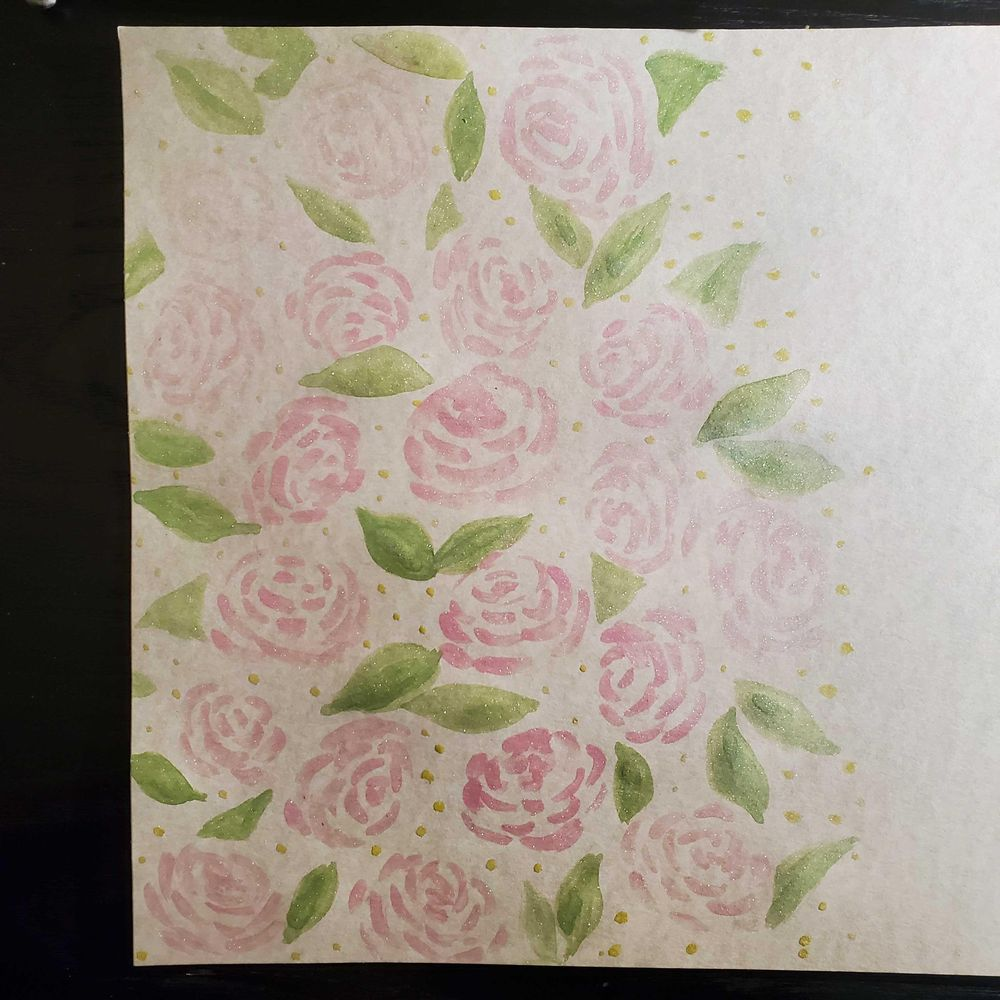 Floral watercolor cards - image 6 - student project