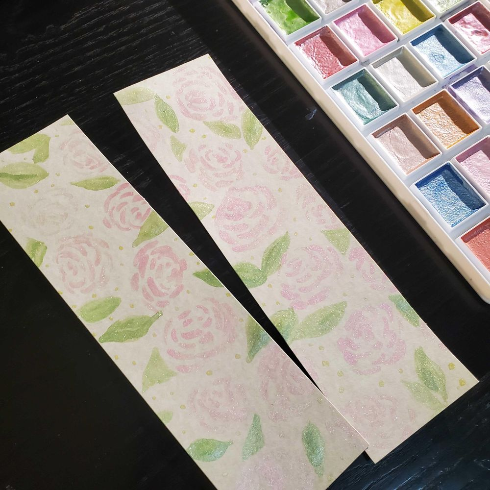 Floral watercolor cards - image 7 - student project