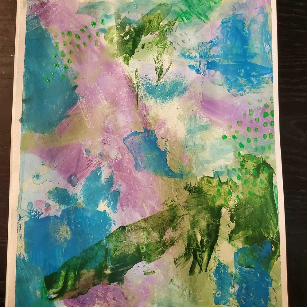 Modern Abstract Expressionism - image 2 - student project