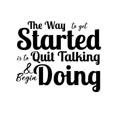 Start doing - image 1 - student project