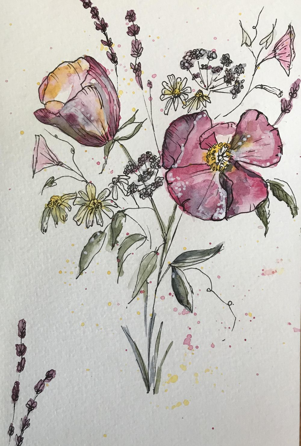5 flowers - image 1 - student project