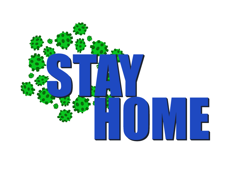 Stay home - image 1 - student project