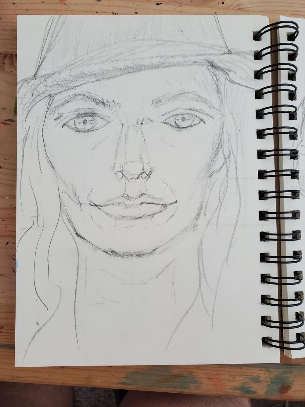 Self Portrait Attempts - image 2 - student project