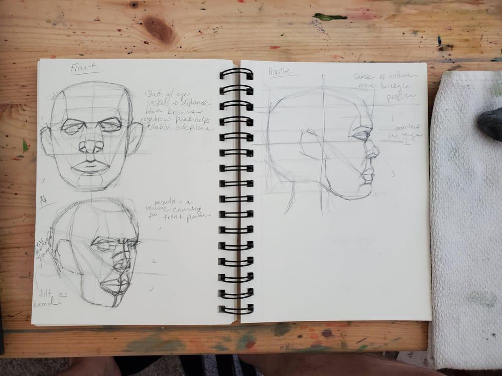 Self Portrait Attempts - image 1 - student project