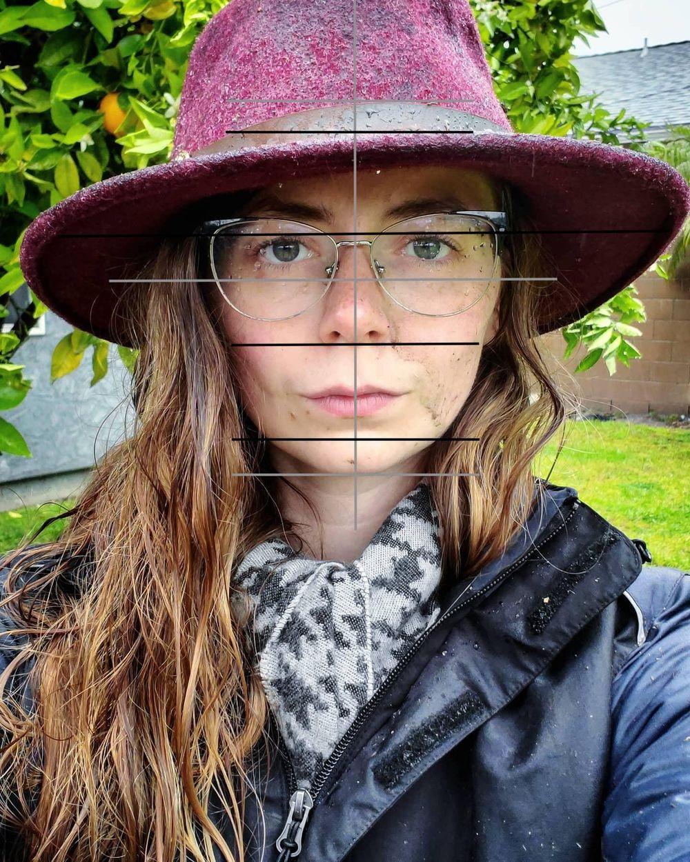 Self Portrait Attempts - image 4 - student project