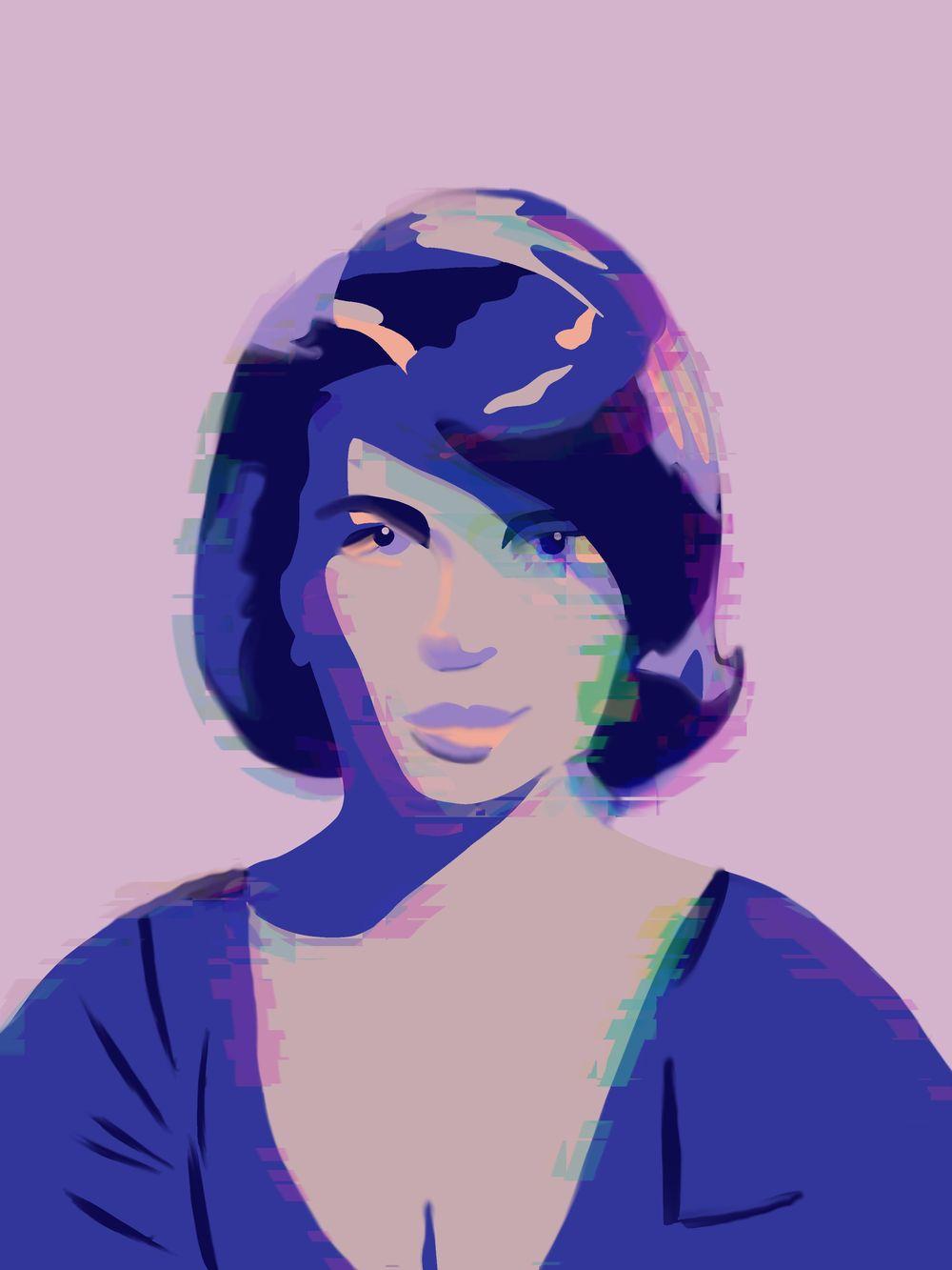Vintage Portrait x2 - image 2 - student project