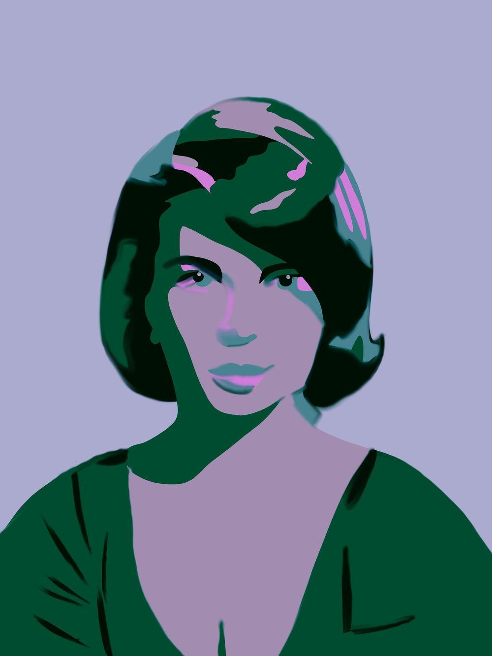 Vintage Portrait x2 - image 3 - student project