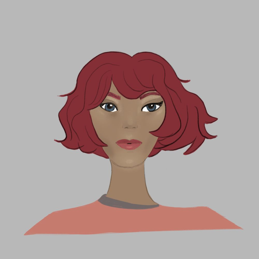 Lady Face - image 1 - student project