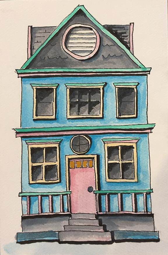 Little imagined house - image 1 - student project