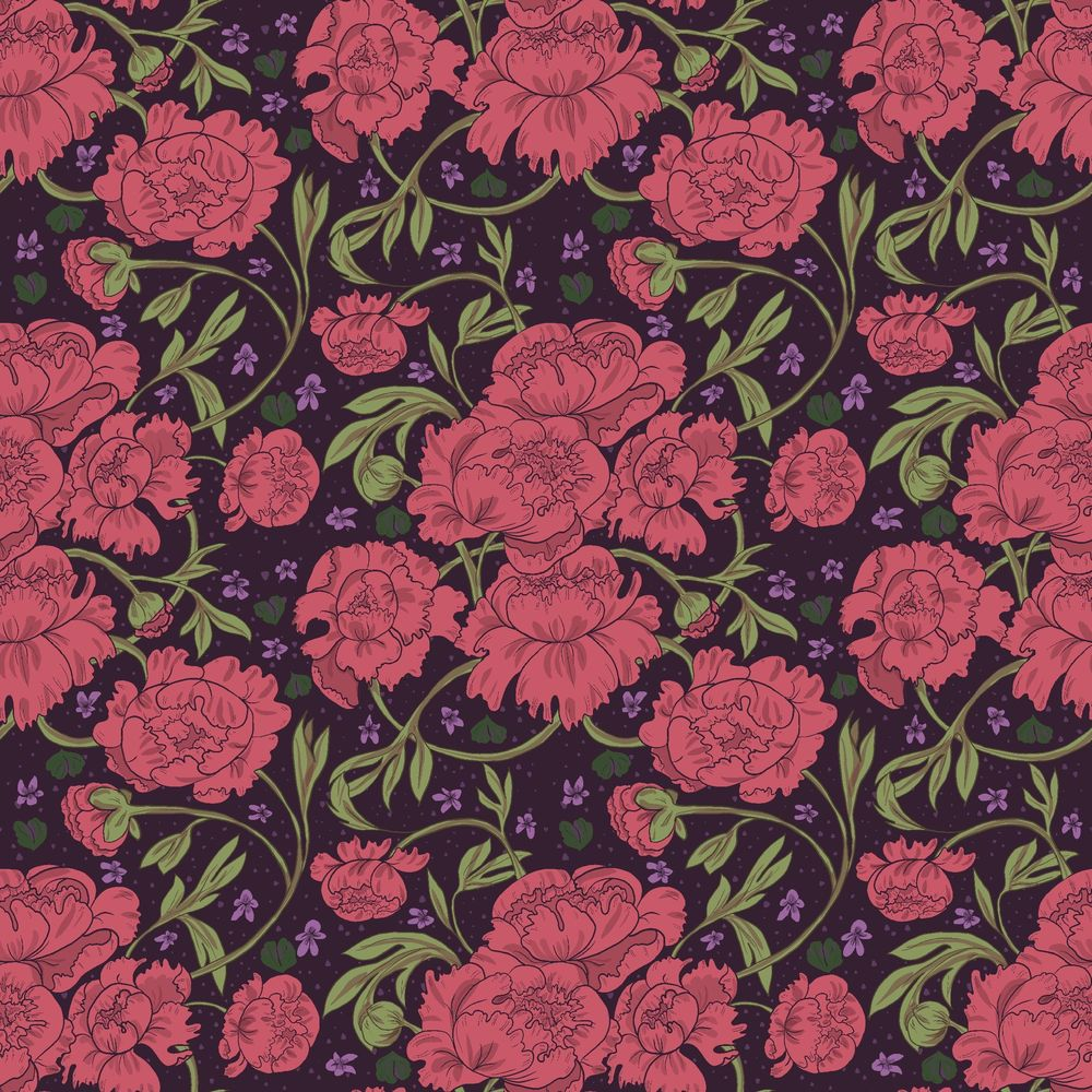 Peony & Violet - image 5 - student project