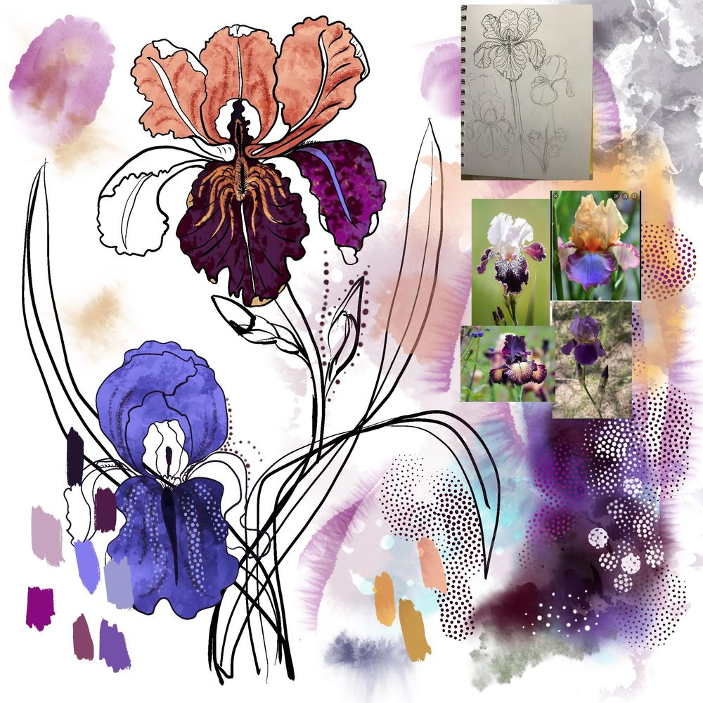 Peony & Violet - image 8 - student project