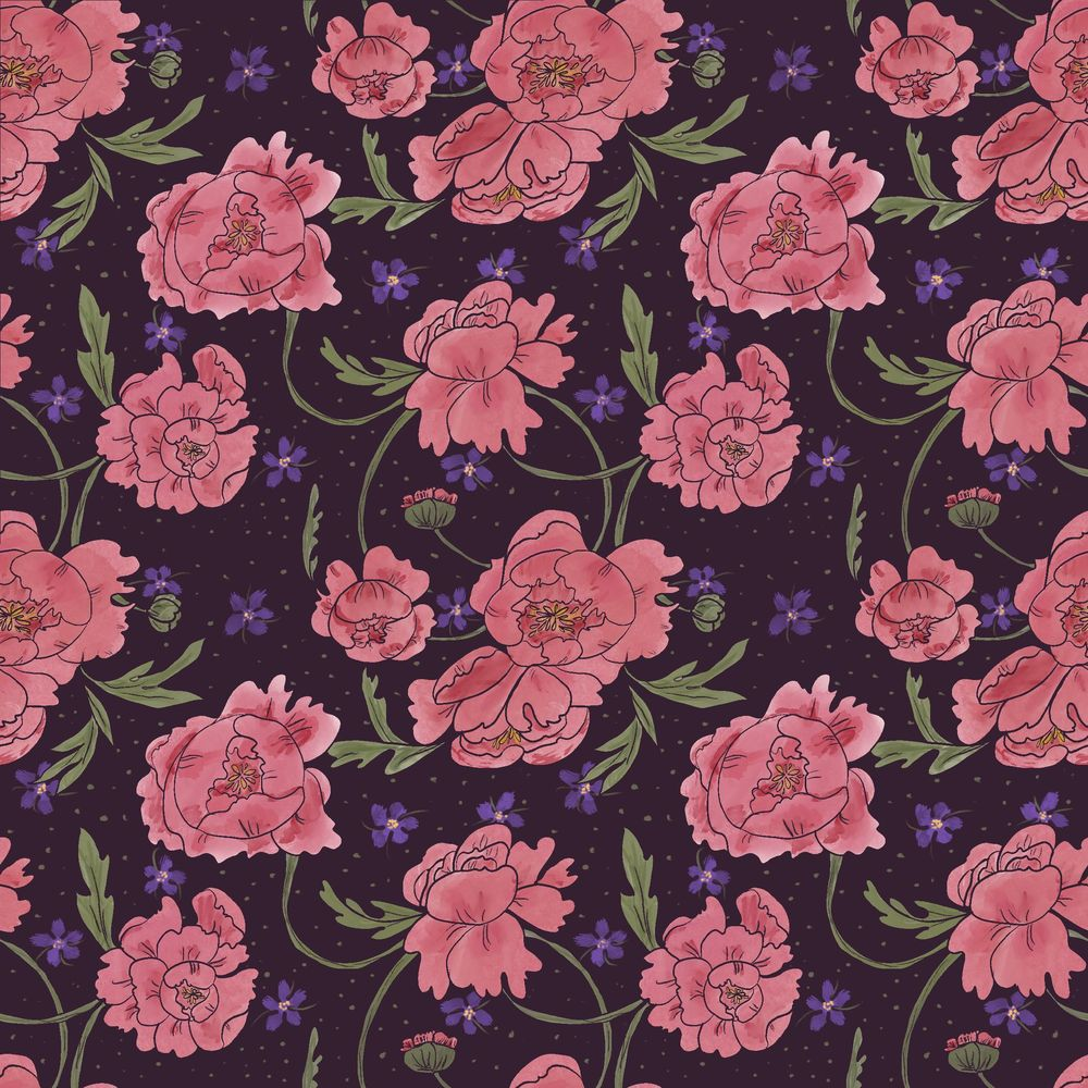Peony & Violet - image 7 - student project