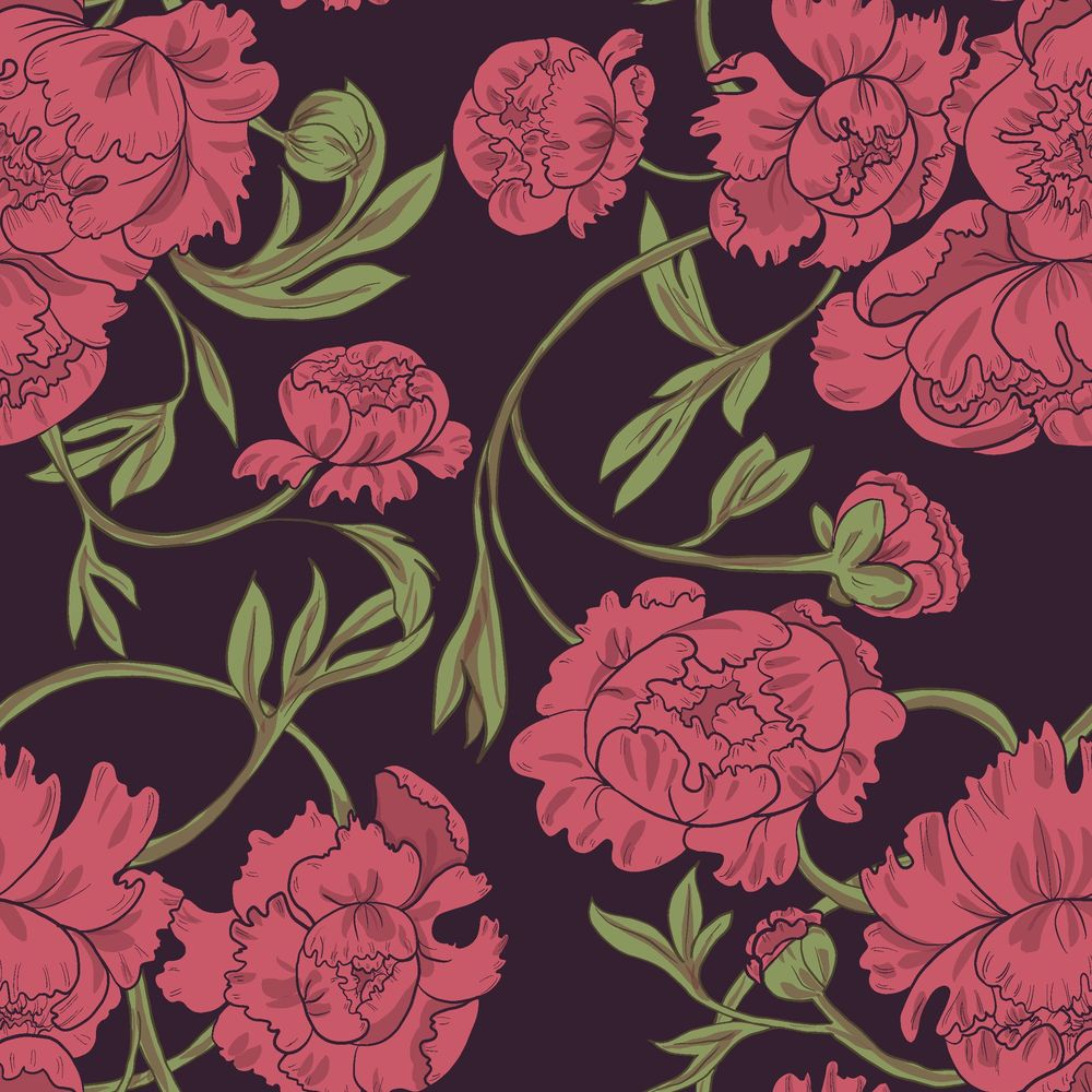 Peony & Violet - image 3 - student project