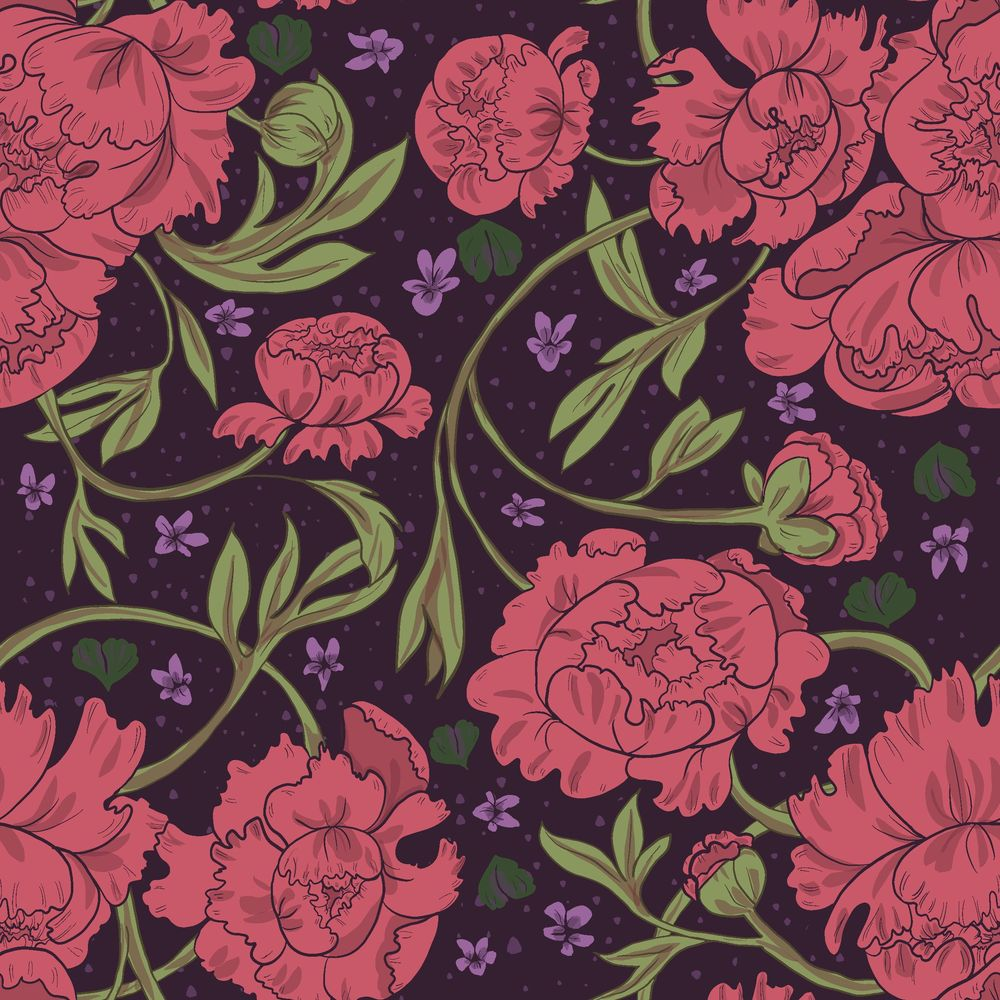 Peony & Violet - image 4 - student project
