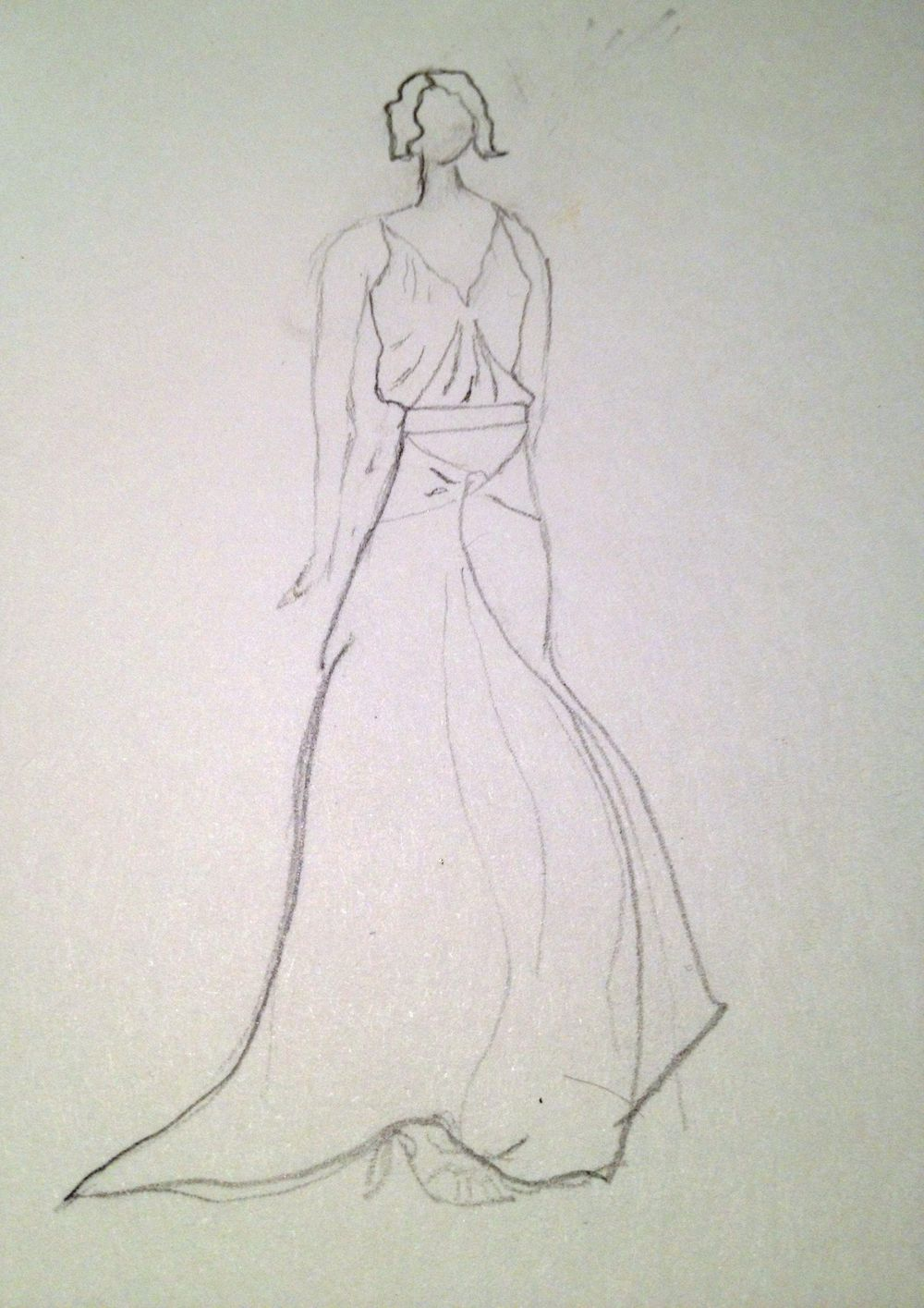 First Sketches: Dramatic Dressing - image 2 - student project