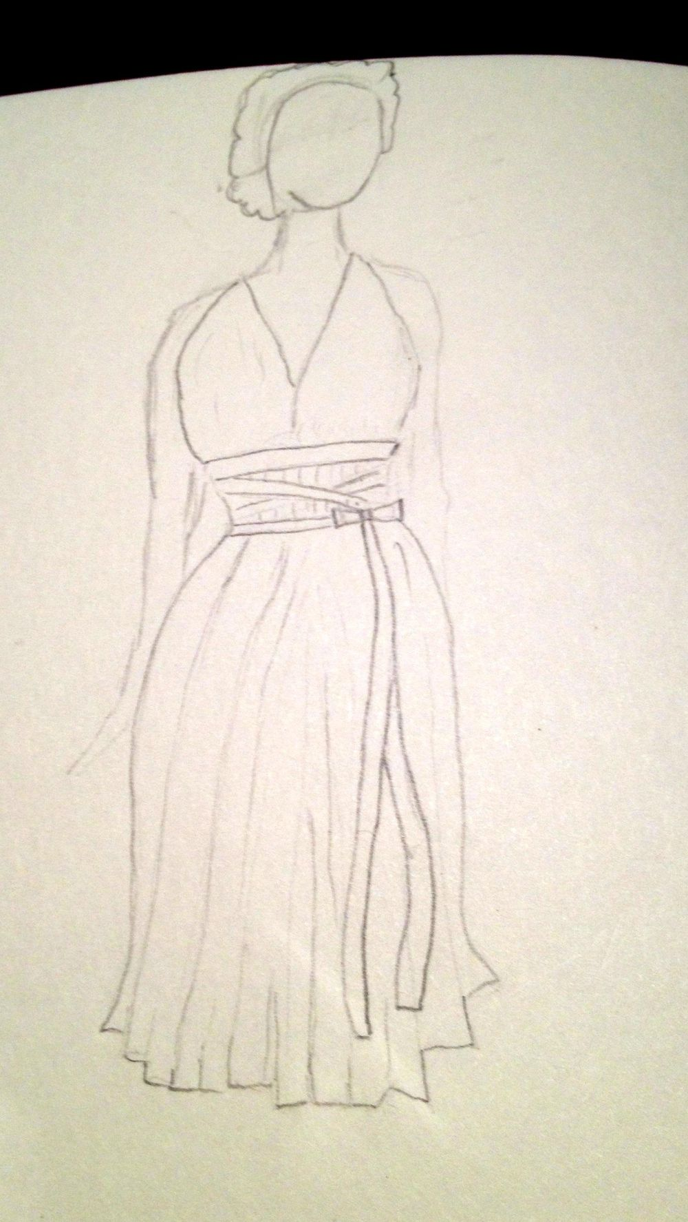 First Sketches: Dramatic Dressing - image 4 - student project