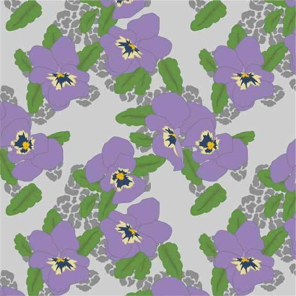 Spring Pansies - image 2 - student project
