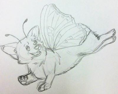 Butterfly Corgi - image 3 - student project