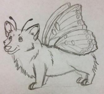 Butterfly Corgi - image 2 - student project